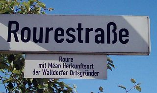 Rourestraße in Mörfelden-Walldorf